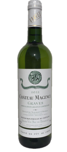 Chateau Magence - Château Magence Blanc Barrique