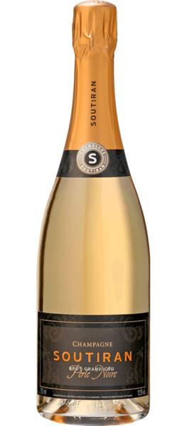 Champagne Soutiran - Brut Blanc de Noirs Grand Cru