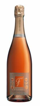 Champagne Fleury - Rosé de Saignée brut