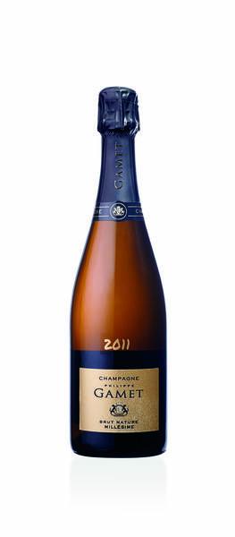 Champagne Philippe Gamet - Brut Nature Millésimé 2011