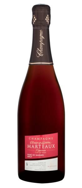 Champagne Marteaux  - Rosé de saignée