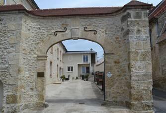 Entrée du Domaine Champagne Caillez Lemaire