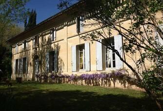 Vue sur le Château Lescaneaut