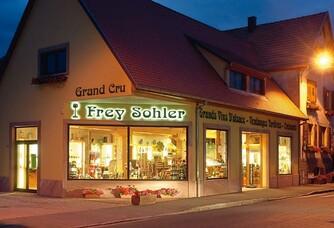 L'entrée de la maison Frey Sohler