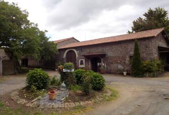 Entrée au Château de La Galissonnière