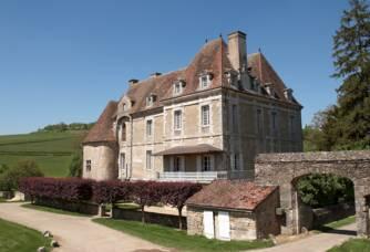 Entrée du Château de Chamilly