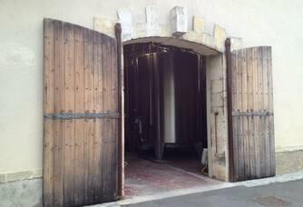 Entrée du Château Meric