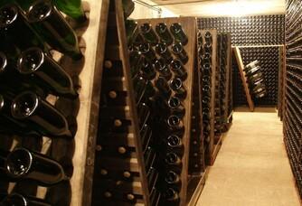 Les palettes de remuage du Champagne Velut
