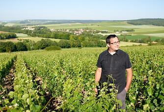 Vu de la vallée depuis Louvois