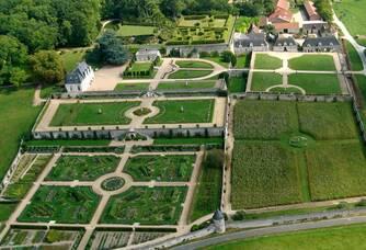 Vue aérienne du Château de Valmer