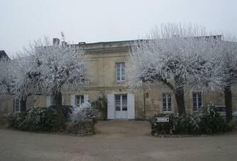 La façade du Château de la Famille Garzaro