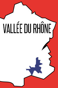 Vins vallée du Rhône